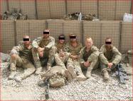 London Regiment soldiers, PB Hazrat