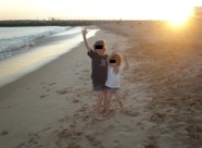 Harry and Alfie in Portugal
