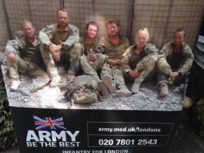 London Regiment recruiting poster