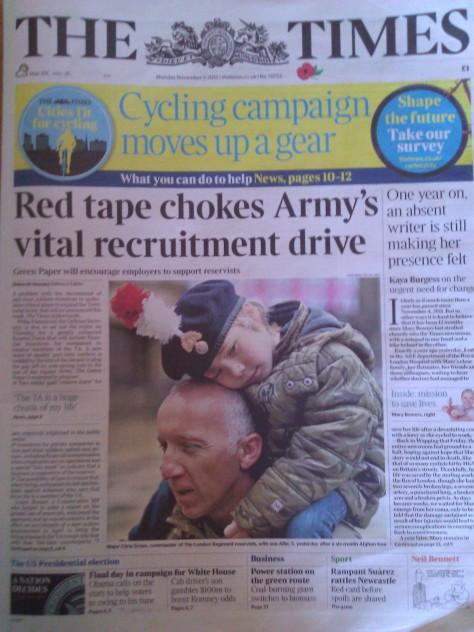 The Times, 05 November 2012