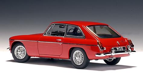 Red MGB GT