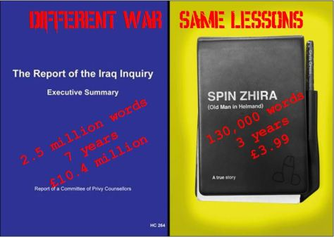 Different War Same Lessons