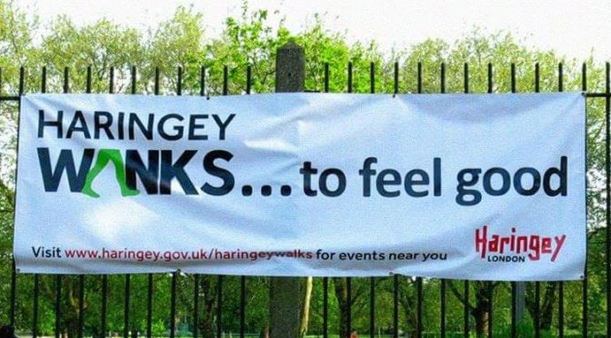 Haringey does what …to feel good?