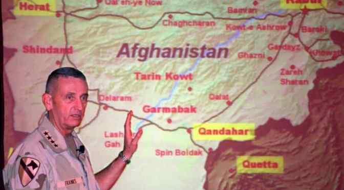 'We're making real progress', say last 17 commanders in Afghanistan