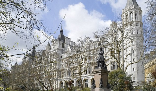 MoD top brass blow £120,000 on £800/night luxury hotels