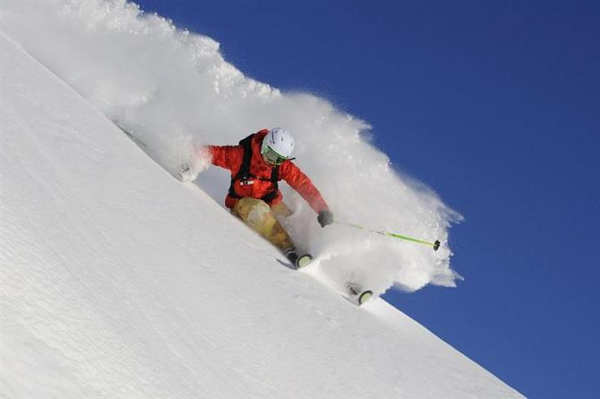 Want to improve your skiing? Get a board.