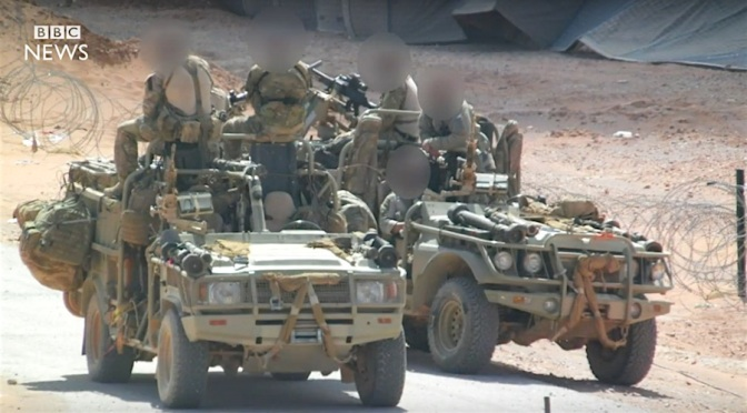 BRITISH SPECIAL FORCES LEAVE SYRIA